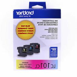 Brother LC101CL Color Ink Cartridges OEM Genuine Factory New