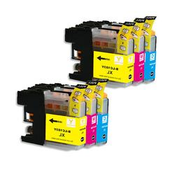 LC103 LC101 Replacement COLOR Ink for Brother MFC-J470DW MFC