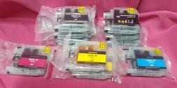 10PK LC103 XL High Yield Ink Cartridge Set For Brother MFC-J