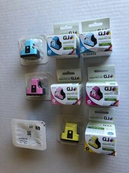 LD HP 02 Ink Cartridge Lot