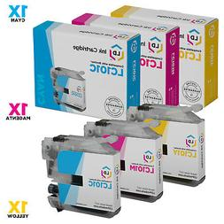 LD Compatible Brother LC101 Set of 3 Ink Cartridges