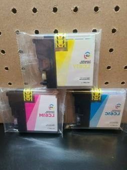 LD Compatible Brother LC61 Ink Cartridges, Magenta, Yellow,