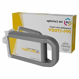 LD Compatible Replacement for Canon PFI-1700Y Yellow Ink Car