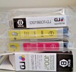 LD Printer Ink Cartridge Epson T098 Black, T0984 Yellow & T0