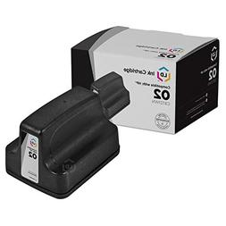 LD © Remanufactured Replacement for HP 02 / C8721WN Bla