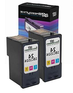 Speedy Inks - 2PK Lexmark Remanufactured 18C1524#24 Color In
