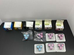 LOT  HP & LD Ink Cartridges 02 Cyan Black Magenta Light Cyan