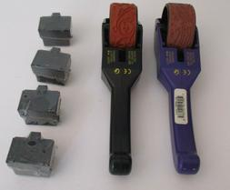 Lot 2 Unused Rollagraph Stamping Wheels + Rollers+ Unused In