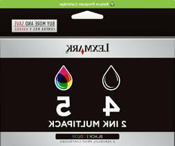 LOT OF 2 - Genuine OEM Lexmark 18C2255#4 and #5 ink cartri