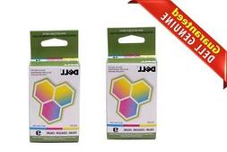 Lot of 2 New Genuine Dell Series 9 Ink Cartridge MK991 For 9