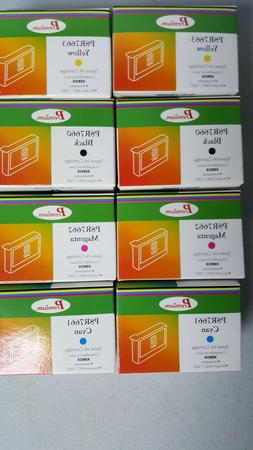 Lot of 8 Xerox Compatible 008R07661-62-63-60 Black & Colors