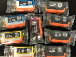 Lot of 9 Ink Cartridges for 564XL Compatible models