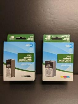 Meijer Dell Series 21xl/22xl Tri-Color And Black Inkjet Cart