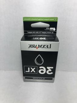 NEW Lexmark #36XL Black Ink Cartridge 18C2170 Genuine SEALED