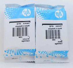 new 63 combo ink cartridges black