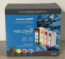 NEW Office Depot Brand  Black/Color Ink Cartridges