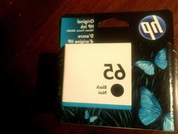 New Genuine HP 65 Black Ink Cartridge Retail Box 2622 2624 2