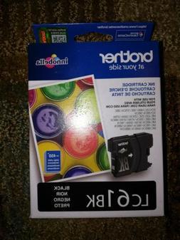 NEW- Brother Genuine Standard Yield Black Ink Cartridge, LC6