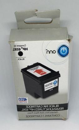 NEW ONN HP 61XL Black Remanufactured Ink Cartridge Officejet