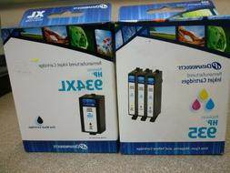 NEW DATAPRODUCTS INK CARTRIDGES HP 935 Cyan Magenta Yellow,9
