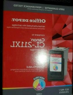 NEW Office Depot  Re-manufactured Ink Cartridge CL-211XL Col