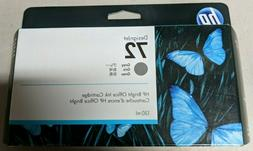 New Sealed OEM HP Designjet 72 C9374A Gray 130ml Ink, Exp De