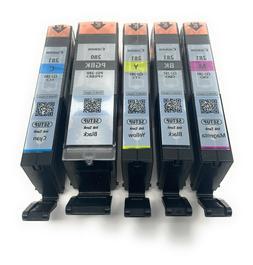 Canon OEM  PGI-280 & CLI-281 Colors  and PGI/CLI Black Ink C