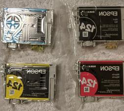 Original Epson 124 4-PACK  High-Capacity Ink Cartridges SEAL