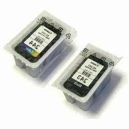Canon PG-243 and CL-244 Bulk Packaging Black and Color Ink C