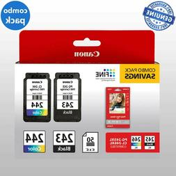 Canon PG-243 CL-244 Ink Cartridges Black Color TR4520 TS3320