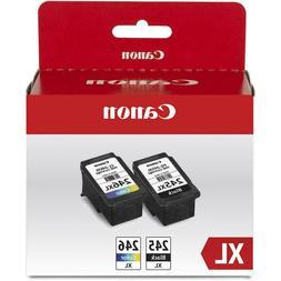 Canon PG-245 XL Black/CL-246 XL Color Ink Cartridge Value Pa