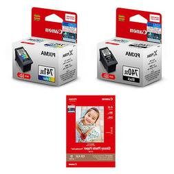 Canon PG-740XL and CL-741XL Ink Cartridges  + 4R Photo paper