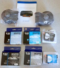 Epson Photo Stylus R3000 Printer 157 Ink Cartridges, Rollers
