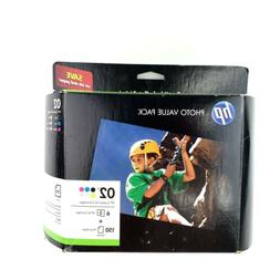 HP Photo Value Pack 02 Black & Color 6 printer Ink cartridge