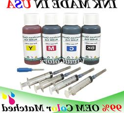 4x30ML refill ink for Canon PG-243 CL-244 MG3020 TS202 TS302