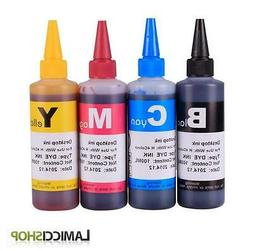 Refill 4 Dye ink for HP 902 906XL 902XL OfficeJet Pro 6954 6