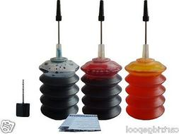 Refill ink kit for Lexmark 24 A X4530 X4550 3X30ML C