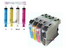 Refillable Ink Cartridges for Brother MFC J5620DW J880DW J88