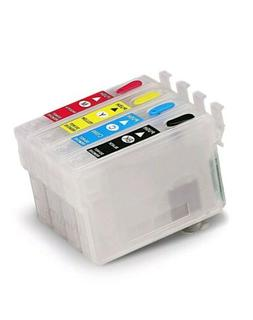 Refillable Ink Cartridges For EPSON #126 WF845 840 WF3530 35