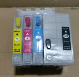 Refillable Ink Cartridges For EPSON #252XL WF-7110 WF-7710 W