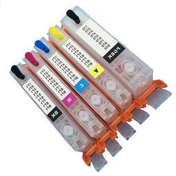 Refillable Refill Edible Ink Cartridges 570/571 Canon Printe