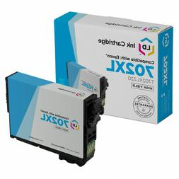 LD Remanufactured Epson 702XL T702XL220 High Yield Cyan Ink