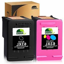 JARBO Remanufactured Ink Cartridge Replacement for HP 63 63X