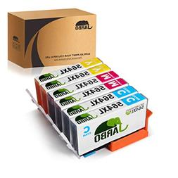 JARBO 3 Color Replacement Hp 564XL ink Cartridge High Yield