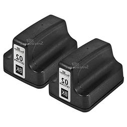 Speedy Inks - 2pk Remanufactured Replacement for HP 02 C8721