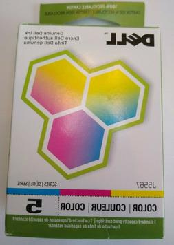 Dell Series 5 Color J5567 Genuine Ink Cartridge New In Packa