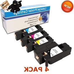 Set of 4 E525W Toner for Dell E525 Ink Cartridges E525WBK E5