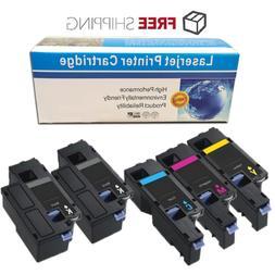 Set of 5 E525W Toner E525BK E525C E525M E525Y Ink Cartridges
