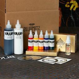 DYNAMIC Stimulus Kit with Tattoo Ink, Cartridge Needles, Sti