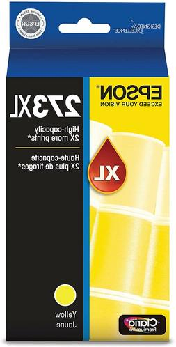 Epson T273XL420 Claria Premium Yellow High Capacity Cartridg